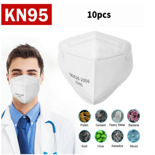 4 Layer Disposable Protective Mask Kn95 Face Mask Dust Mask