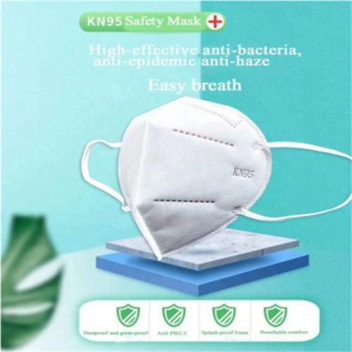 4-Ply Anti-Virus Ffp2 N95 Respirator Face Mask