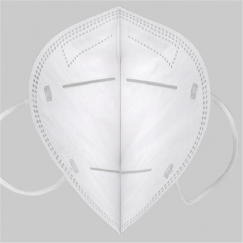 FCC RoHS ISO SGS 13485 Non-Woven Disposable Earloop KN95 Face Mask